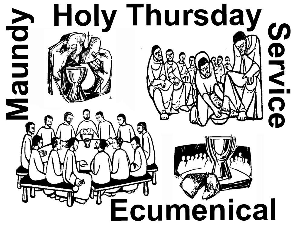 Holy Thursday Clip Art.