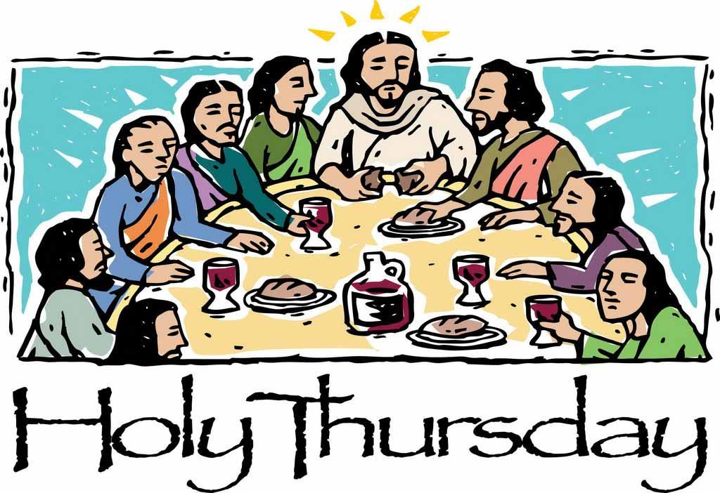 Holy Thursday Clipart Free.