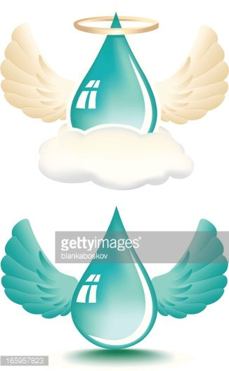 Holy Water Clipart Image.
