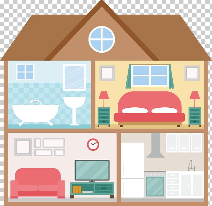 House Plan Euclidean , Modern home decor PNG clipart.