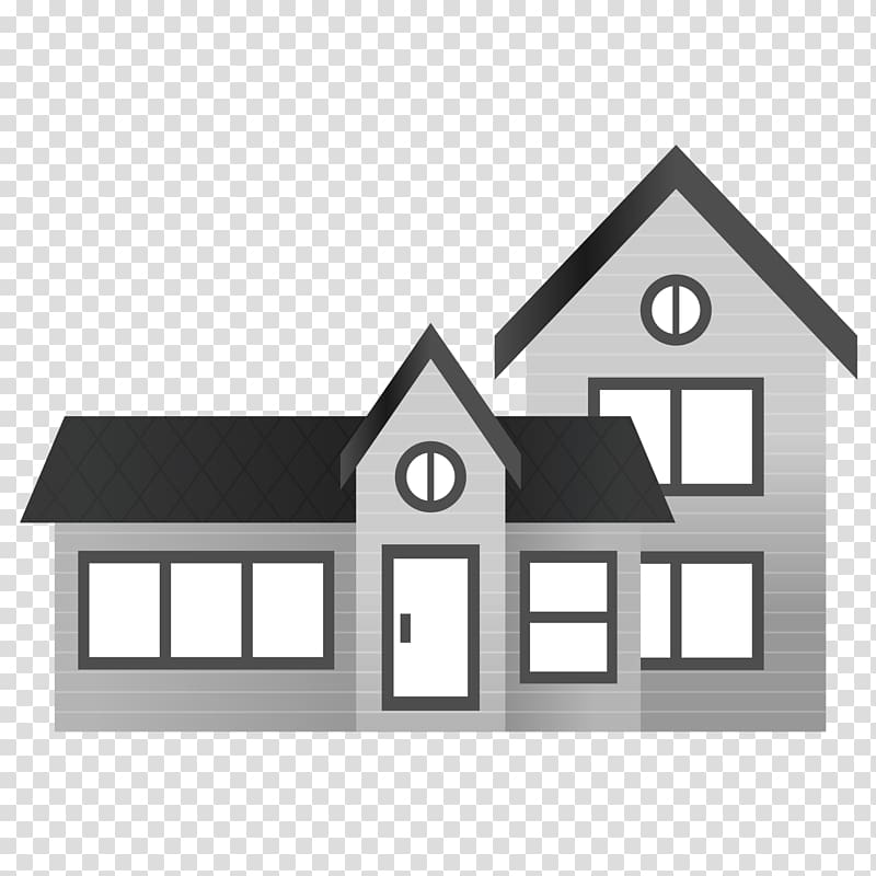 White and black house , House Scalable Graphics , House.