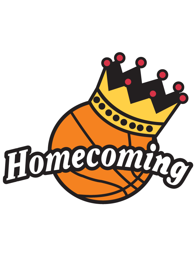 Basketball Homecoming Clipart.