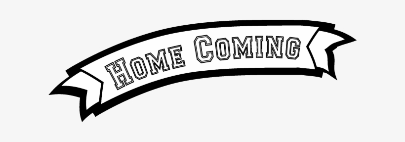 Homecoming Clipart Banner Transparent.