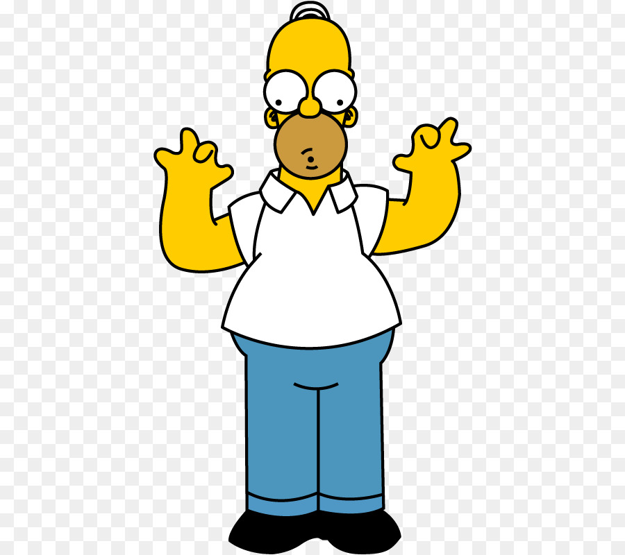 Homer simpson clipart 3 » Clipart Station.