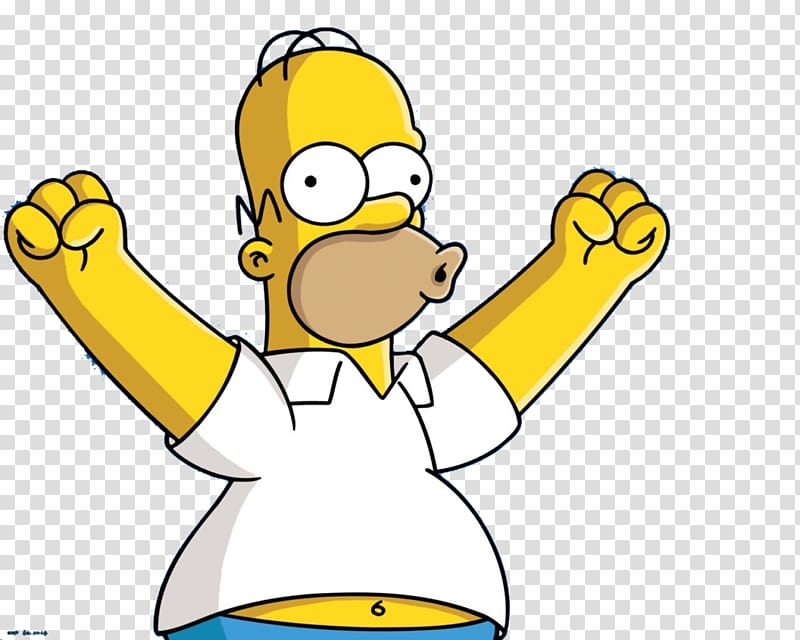 Bart Simpson illustration, Homer Simpson YouTube Tenor.