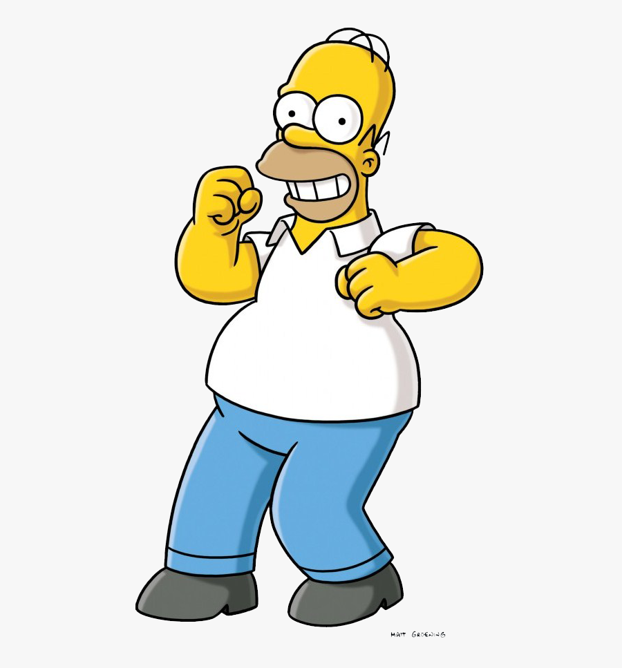 Transparent Homero Png.