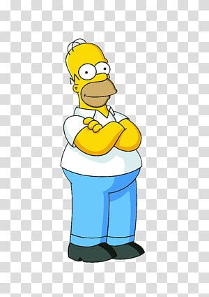 Homer Simpson Bart Simpson Lisa Simpson Marge Simpson Grampa.