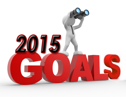 Goals for 2015!.