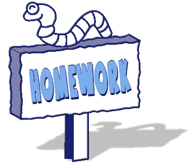 Homework clip art for kids free clipart images 4.