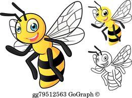 Honey Bee Clip Art.