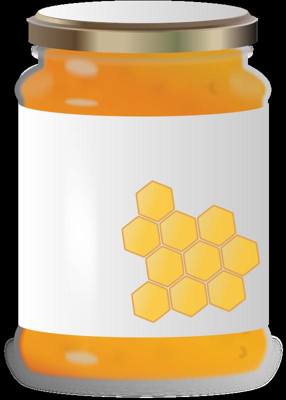 Free Clipart: Honey Jar.