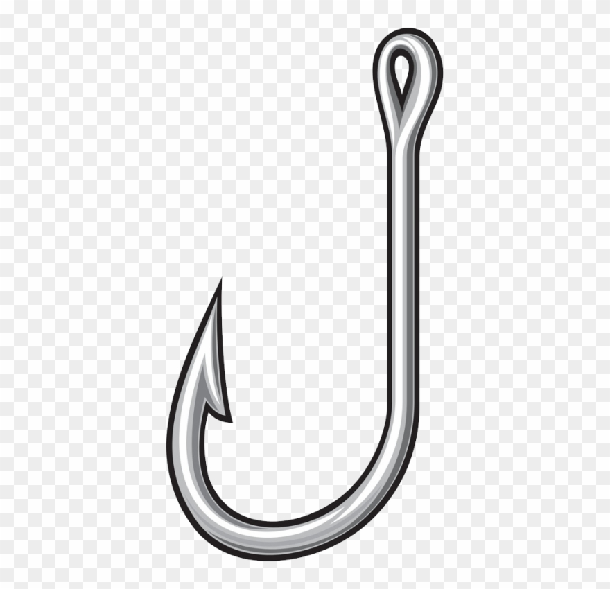 Fish Hook Png, Download Png Image With Transparent.