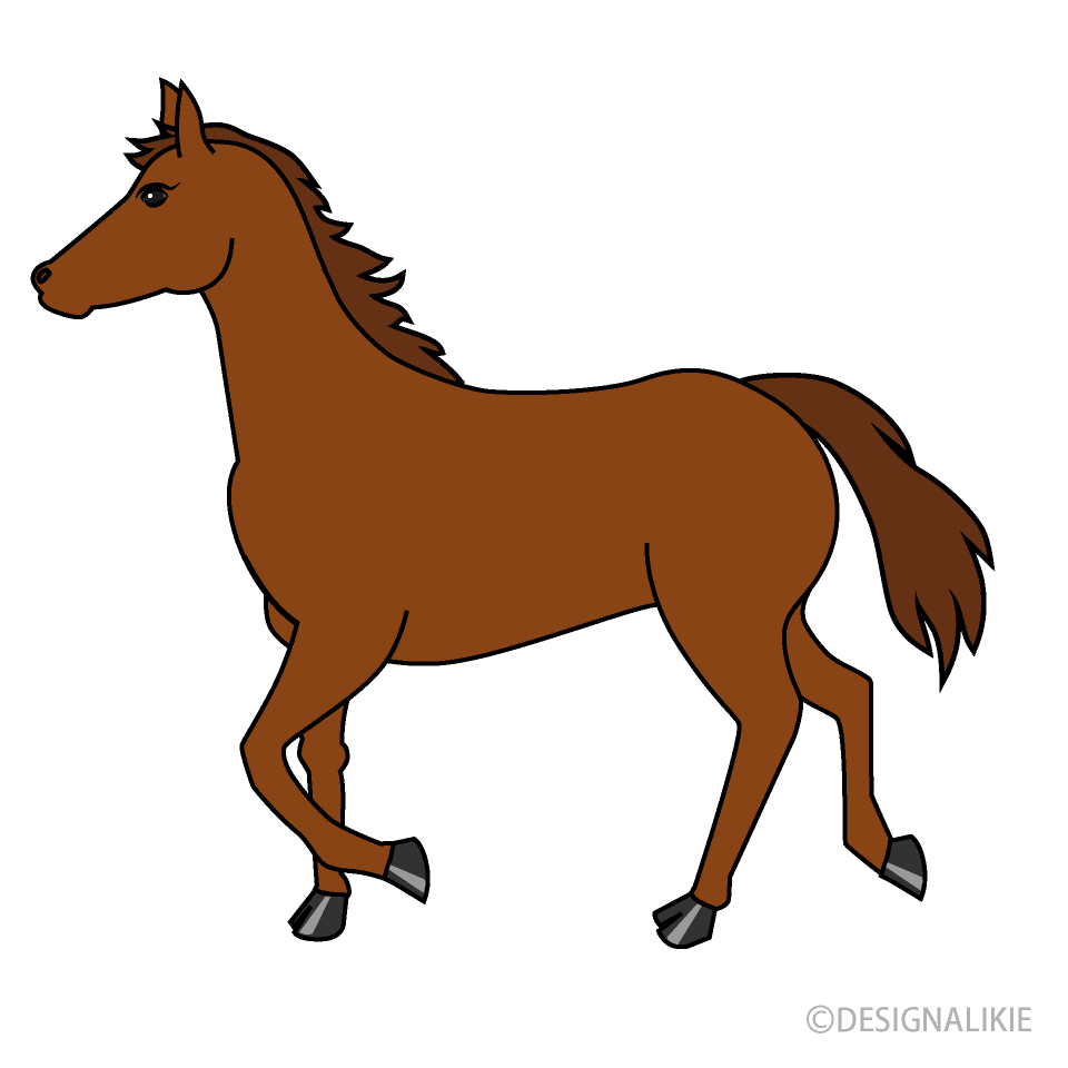 Clipart horse walking, Clipart horse walking Transparent.
