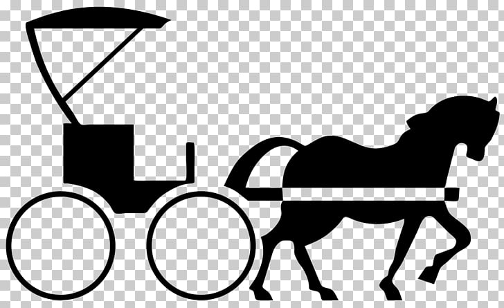 Horse and buggy Carriage , horse PNG clipart.