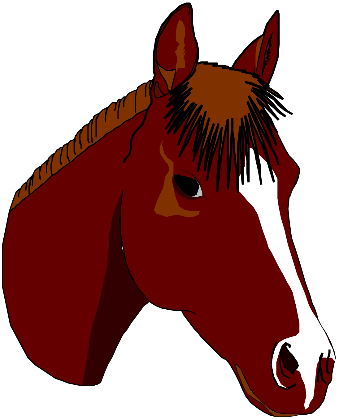 Free Horse Face Cliparts, Download Free Clip Art, Free Clip.