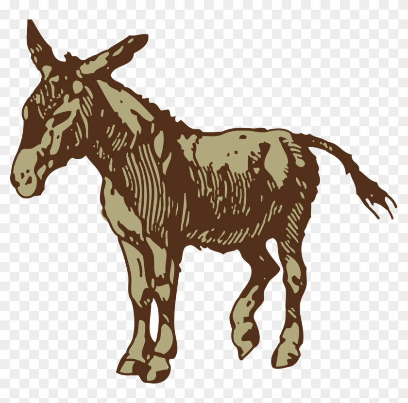 Horse Drawing Free Commercial Clipart.