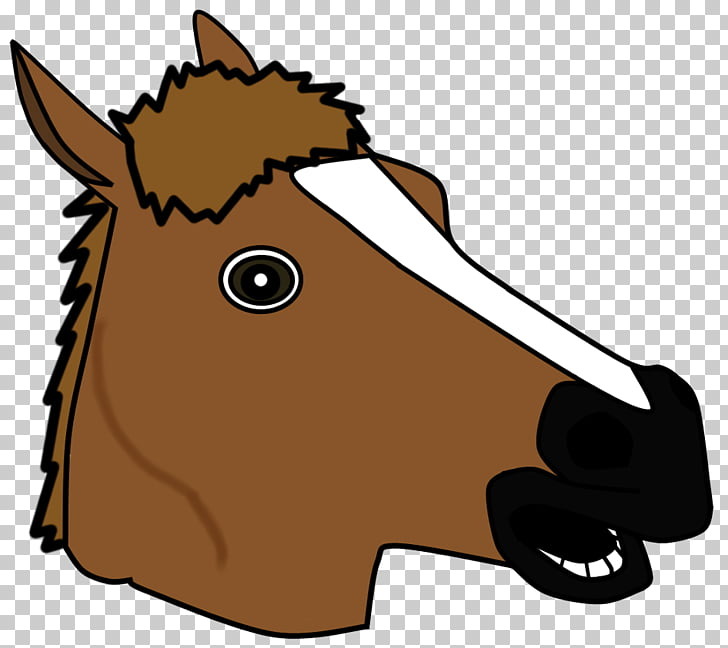 Horse head mask , horse PNG clipart.