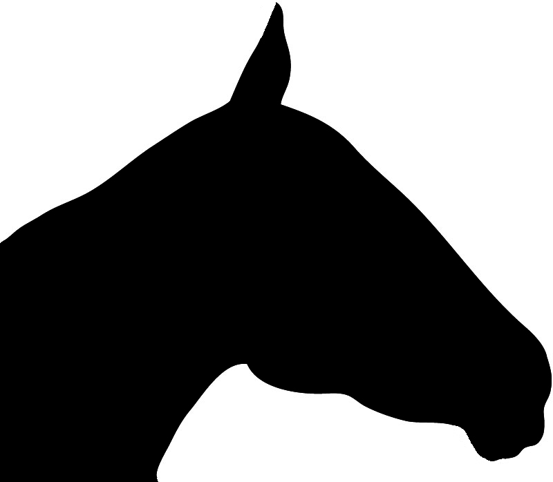 Clipart horse head silhouette 8 » Clipart Station.