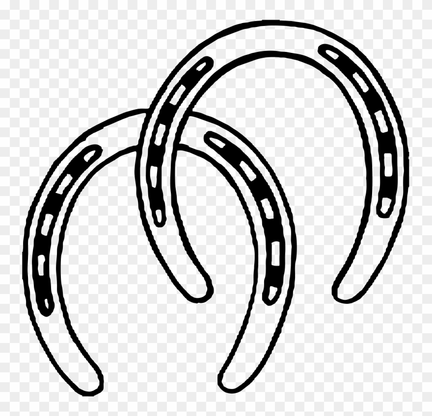 Horseshoe Clipart Two.