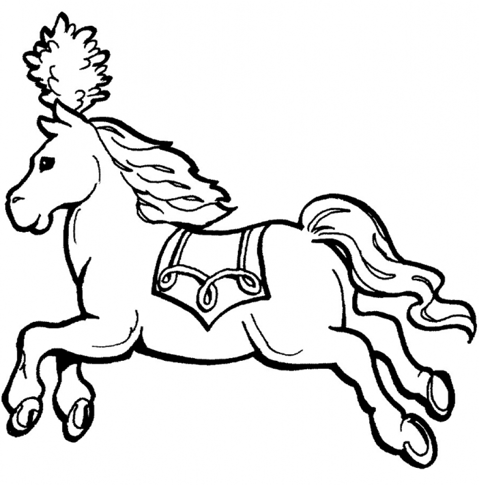 Pictures Of Horse Drawings.