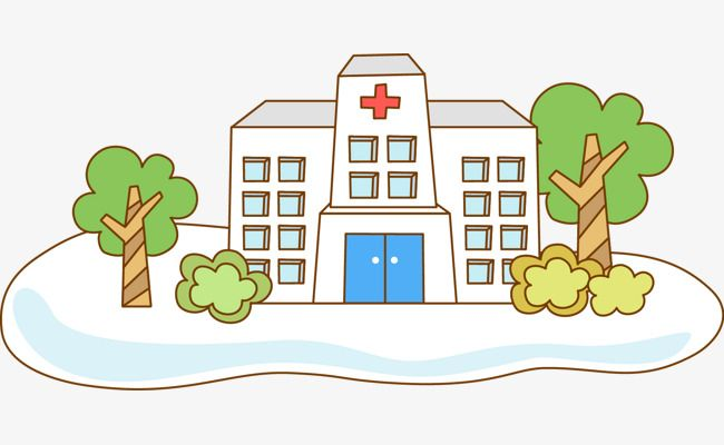 Cartoon Hospital, Cartoon Clipart, Hospital Clipart.