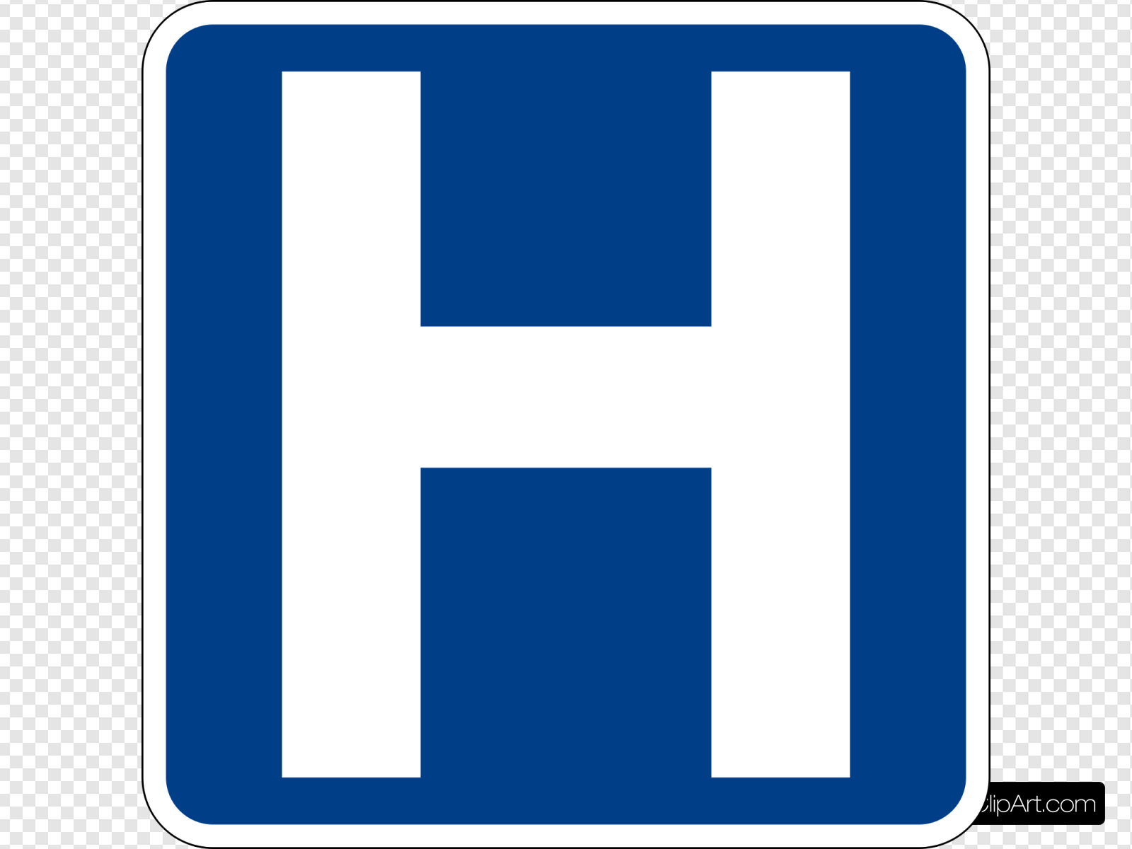 Hospital Sign Clip art, Icon and SVG.
