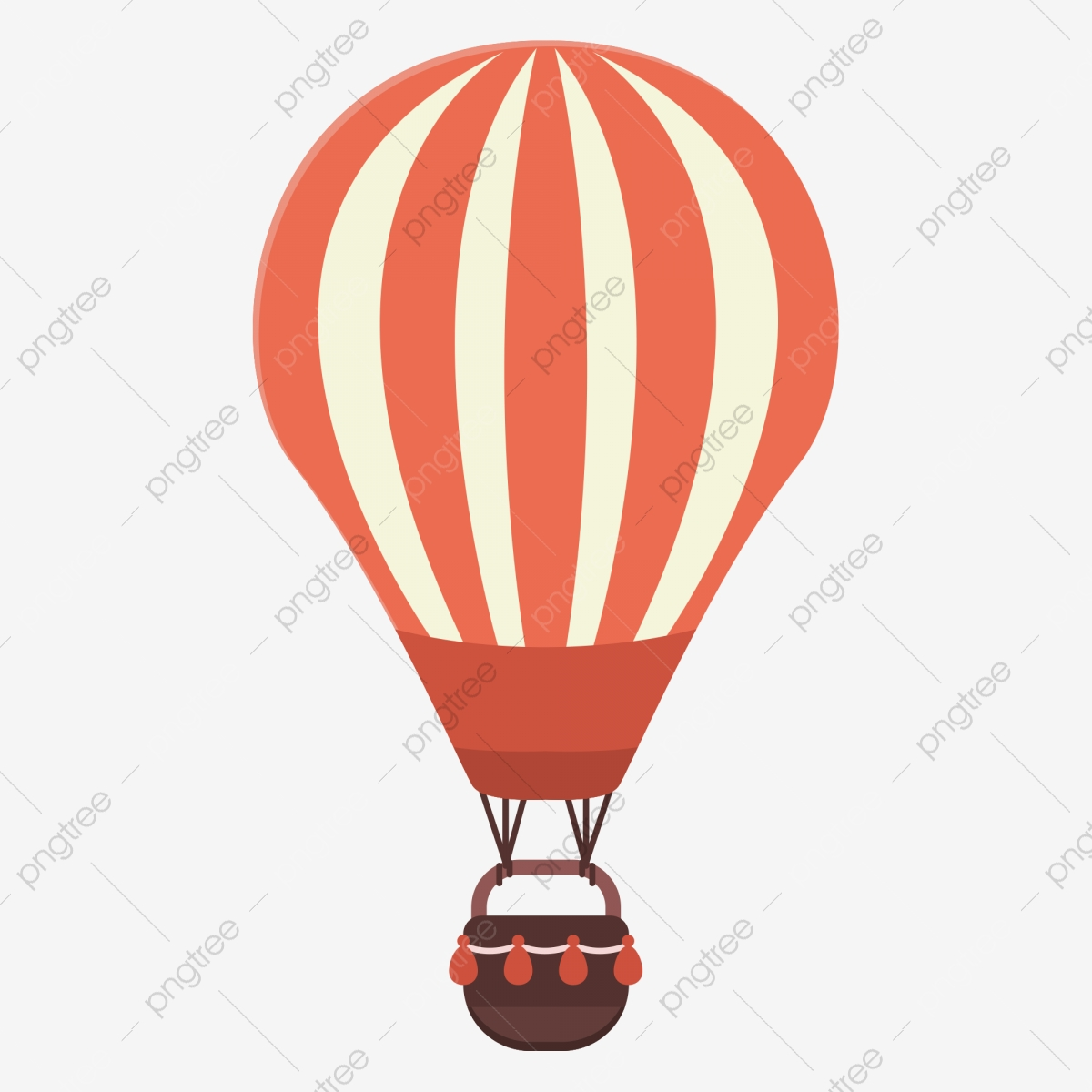Beautiful Hot Air Balloon, Balloon Clipart, Hot Air Balloon, Colored.