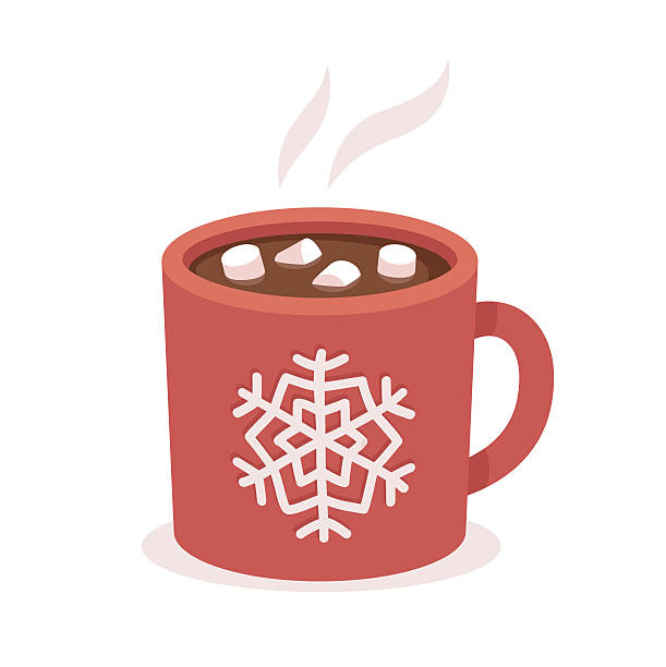 Hot Chocolate Mug Clipart.