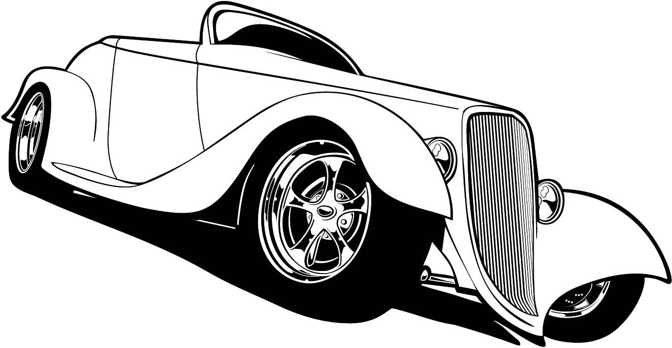 FREE CARTOON HOT ROD CAR CLIPART.