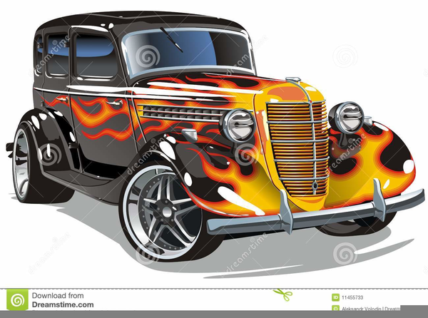 Hot rods clipart 1 » Clipart Station.