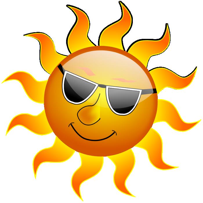 Hot Summer Clipart.