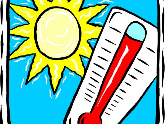 Hot weather clipart 4 » Clipart Station.