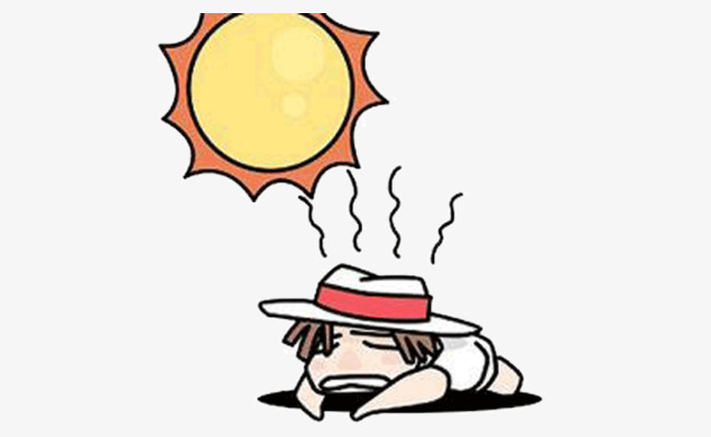 Hot weather clipart 7 » Clipart Station.