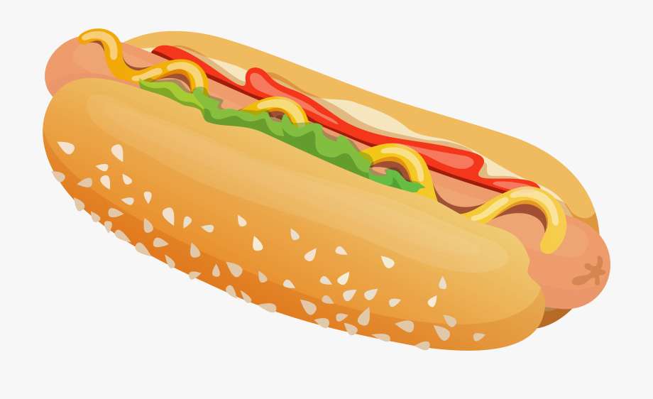 Hot Dog Clip Art Transparent.