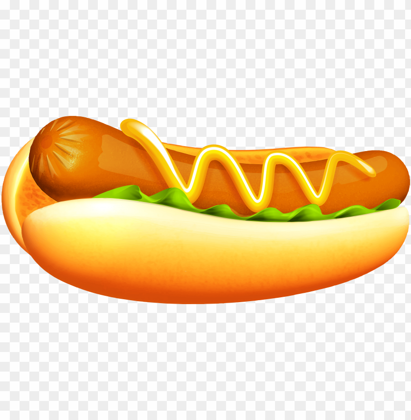 hot dog transparent png clipart image food clipart,.