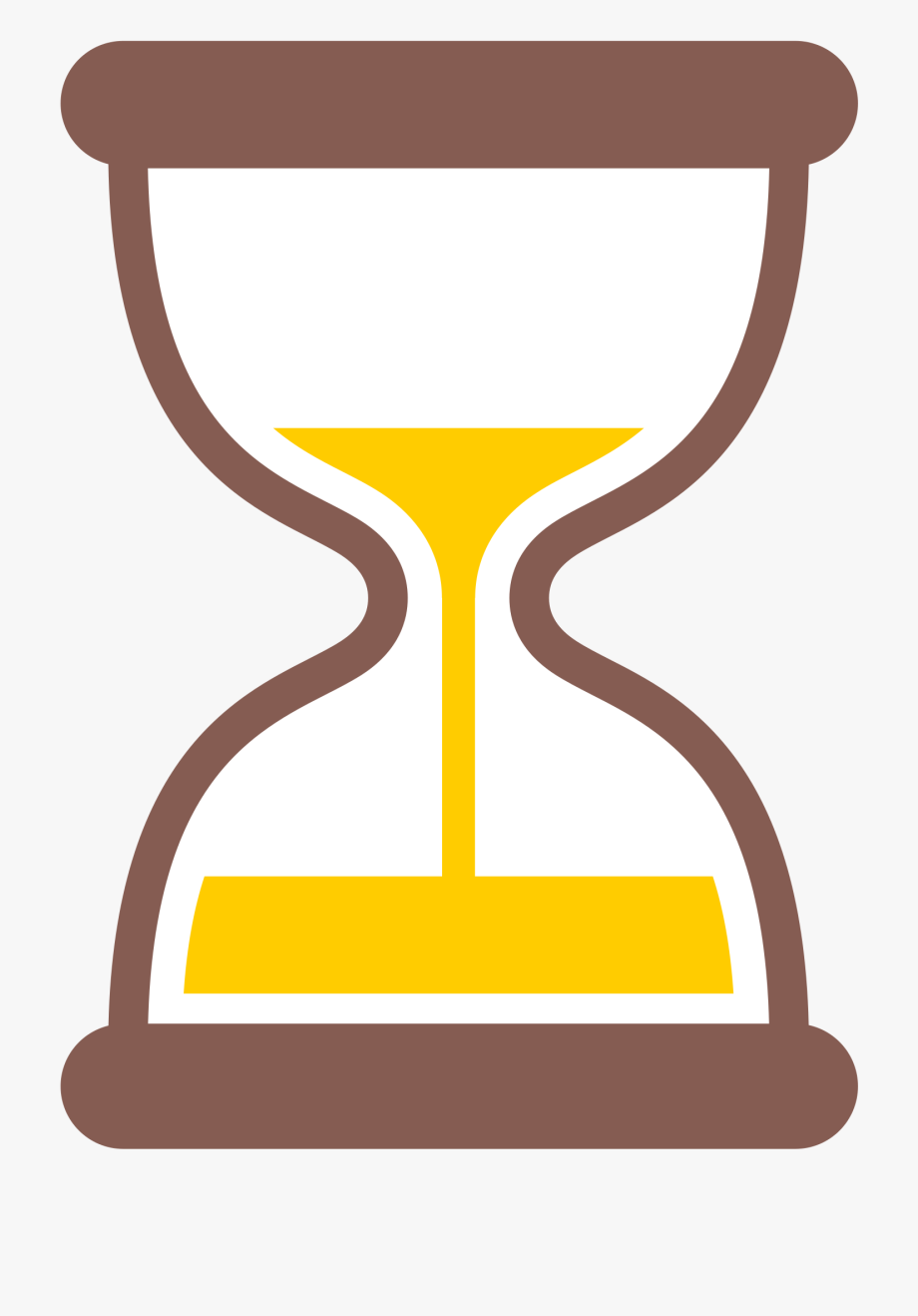 Hourglass Clipart Yellow.
