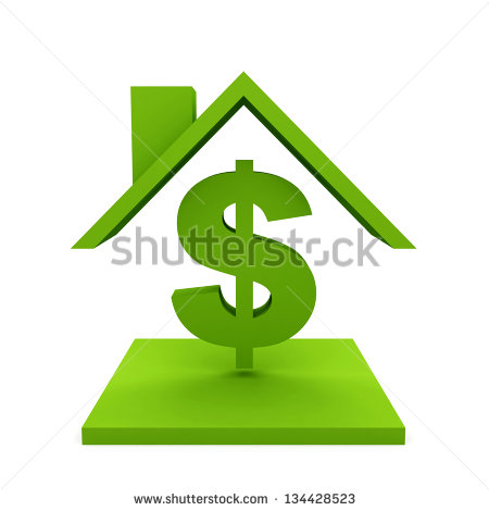 House Dollar From Stock Photos, Royalty.