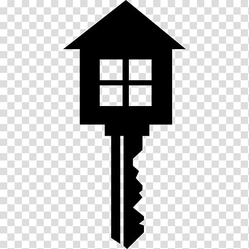 Black house key sketch, House Computer Icons Key, keys.