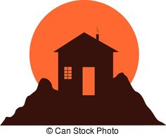 Mountain house Clipart Vector and Illustration. 3,495 Mountain.