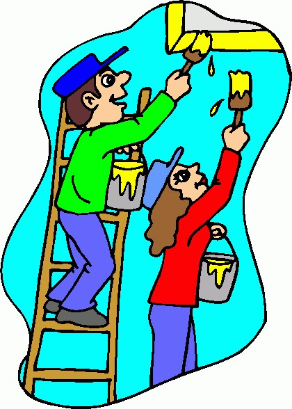 House painter clipart 1 » Clipart Station.