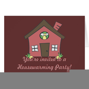 Clipart House Warming.