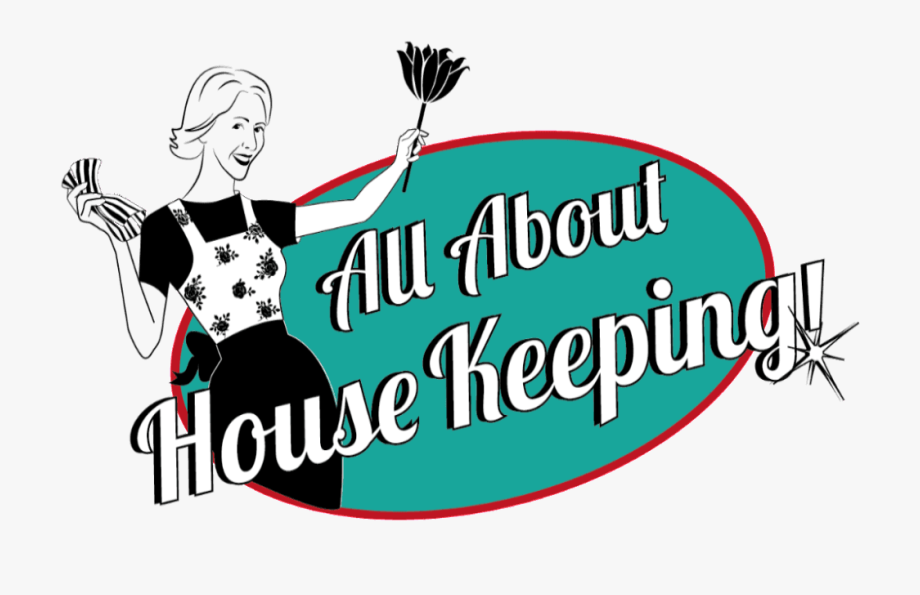 All About Housekeeping Clipart.
