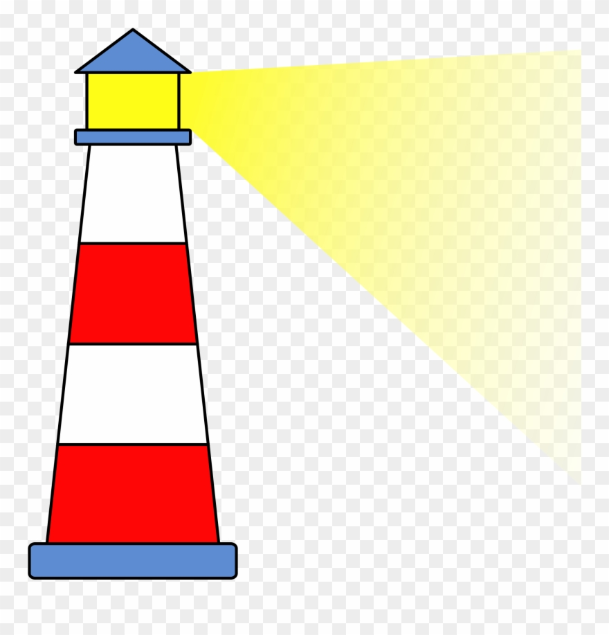 Light House Silhouette At Clip Art Transparent.