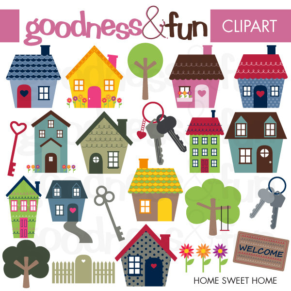 Free Clipart House Home.