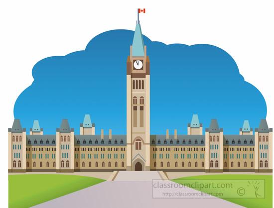 Parliament Building Clipart.
