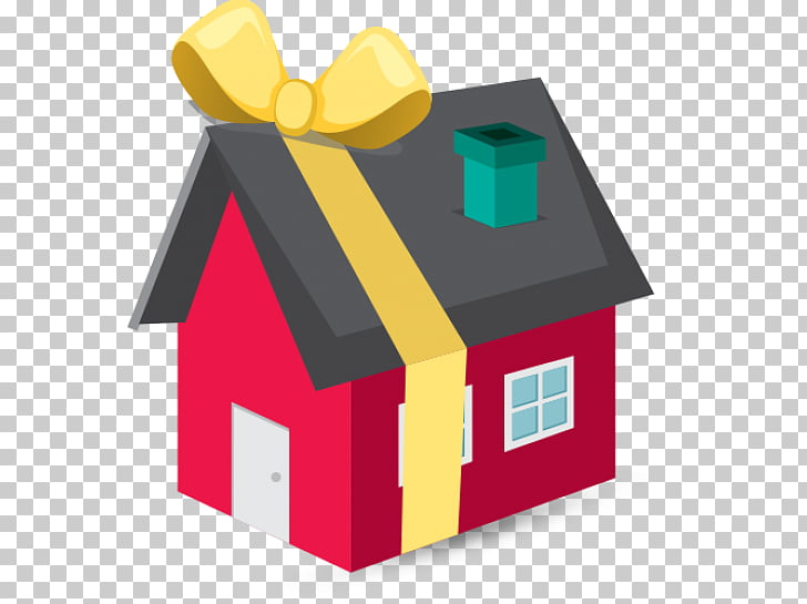 Housewarming party Gift , house PNG clipart.
