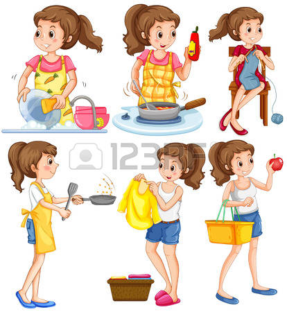 23,963 Housework Stock Illustrations, Cliparts And Royalty Free.
