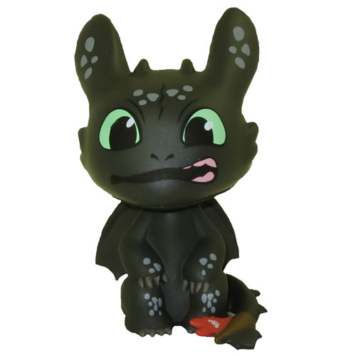 Toothless (Sitting, Gums) Mystery Vinyl Mystery Minis How To Train.