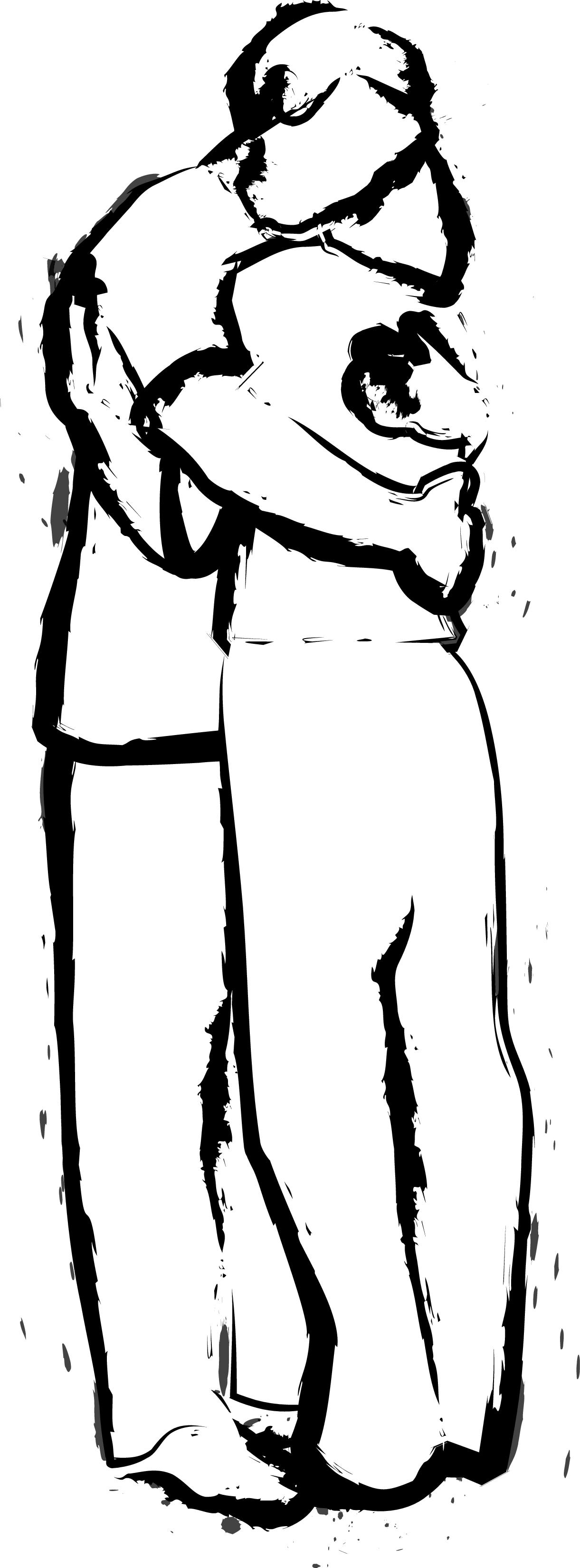 Hug Clipart.