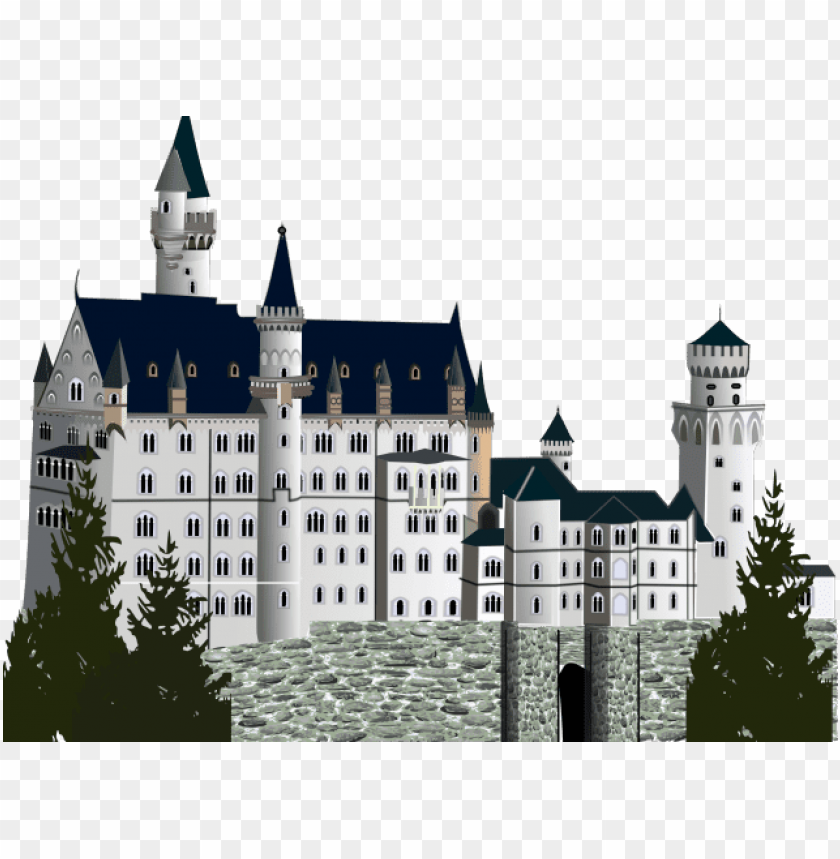 castle clipart germany cute borders vectors animated.
